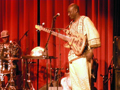 Abdoul Wahab Berthe - bassist for habib koite and bamada
