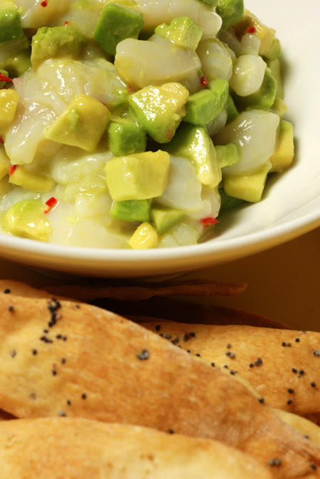 Avocado and Scallop Salsa© by Haalo