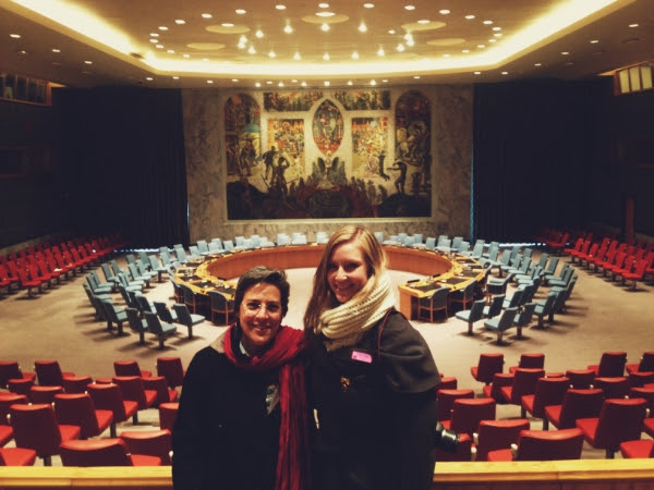 United Nations with Mary