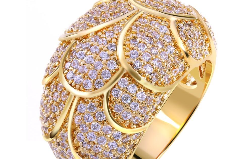 792df14cbde Unique Perlage Design Jewelry Women Ring 256pcs AAA White Cubic ...