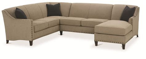 rowe rockford traditional  piece sectional  chaise