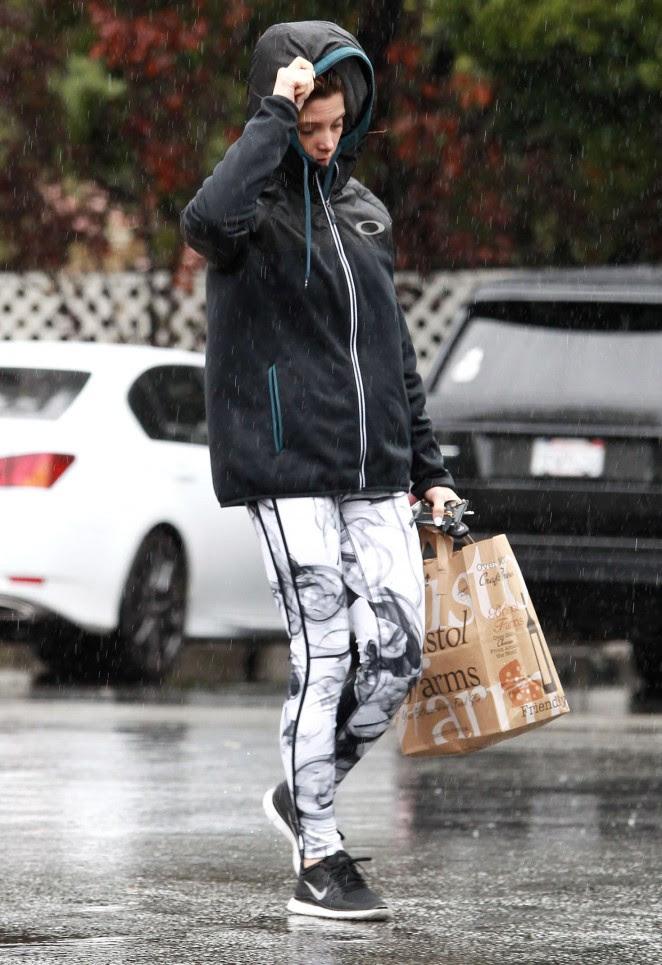 Ashley Greene at Bristol Farms in LA -06