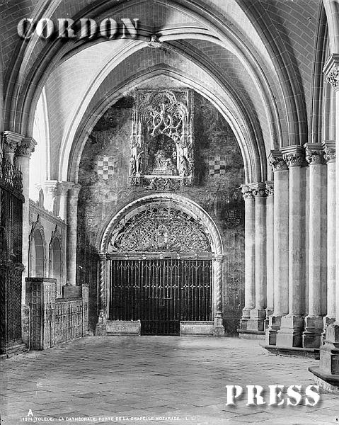 Capilla Mozárabe de la Catedral de Toledo hacia 1875-80. © Léon et Lévy / Cordon Press - Roger-Viollet