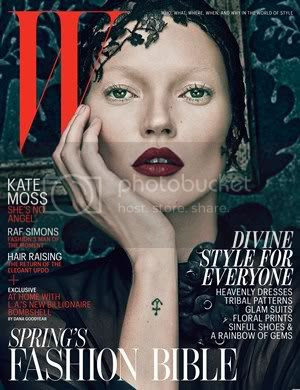 Kate Moss W Magazine Good/Evil Covers