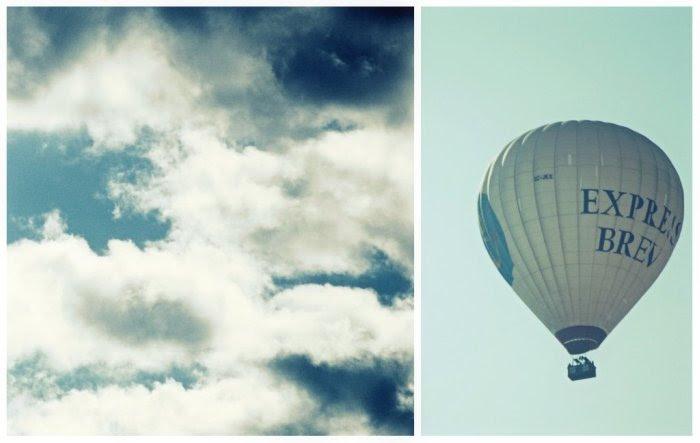 Buscando las nubes ...