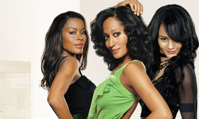 """Girlfriends"" stars Golden Brooks, Tracy Ross and Portia White"