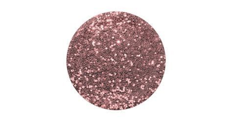 Modern Rose Gold Faux Glitter Pink Print Paper Plate