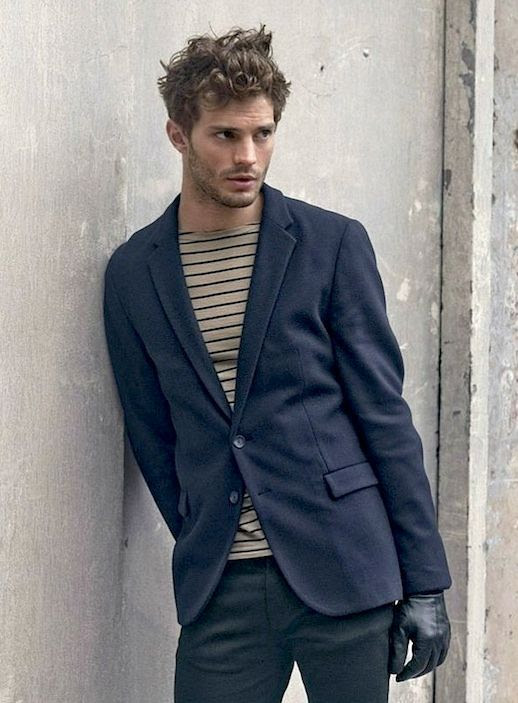 25 Stylish Hot Guys In Stripes -- Jamie Dornan -- Blazer and Leather Gloves -- Mens Style -- Via Hugo Boss photo 10-25-Stylish-Hot-Guys-In-Stripes-Jamie-Dornan-Blazer-Leather-Gloves-Mens-Style-Via-Hugo-Boss.jpg