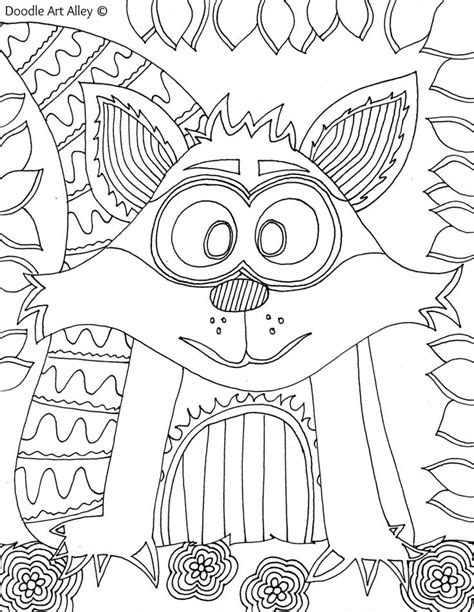 images  animal coloring pages doodle op pinterest