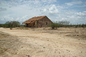 Casa da fazenda Almas de Cima, também no Rio Grande do Norte: preservação ainda precária - Fonte - Nathália Diniz