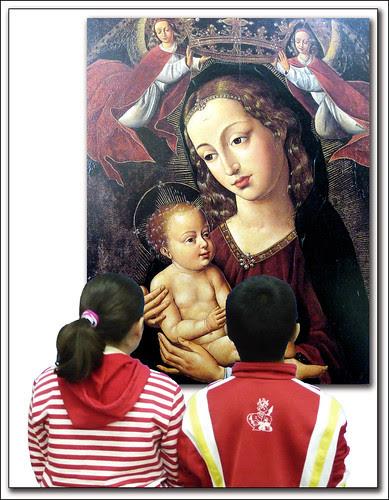 Virgen con el Niño de Anónimo Hispano Flamenco