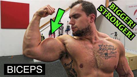 bigger stronger biceps workout dumbbells  youtube