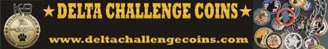 Delta Challenge Coins
