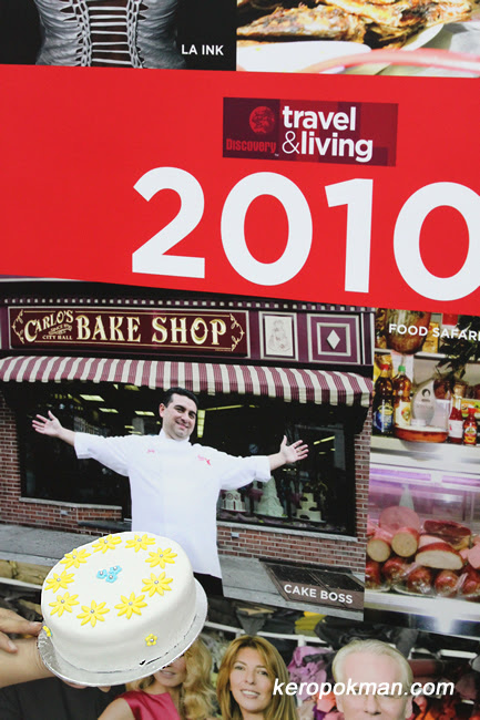 Cake Boss premieres on Discovery Travel and Living Asia 3 March 2010