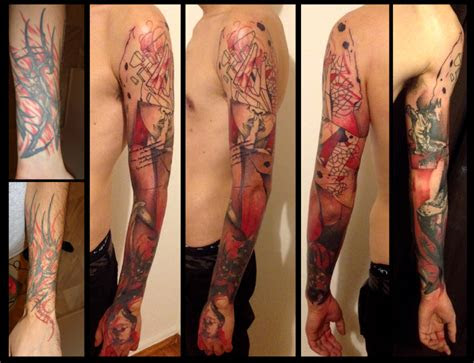 hush girl trash polka cover tattoo