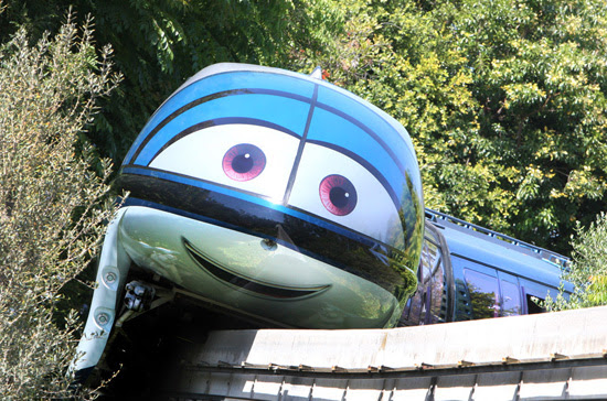 Mandy the Disneyland Monorail