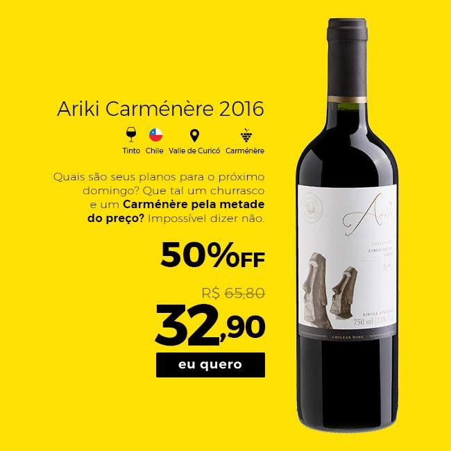 Ariki Carmenere 2016