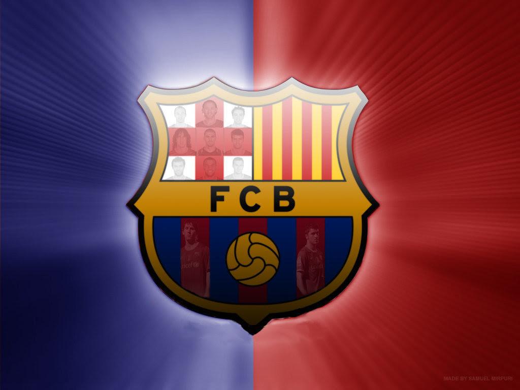 Fc Barcelona Logo 壁紙 Fcバルセロナ 壁紙 22614257 ファンポップ