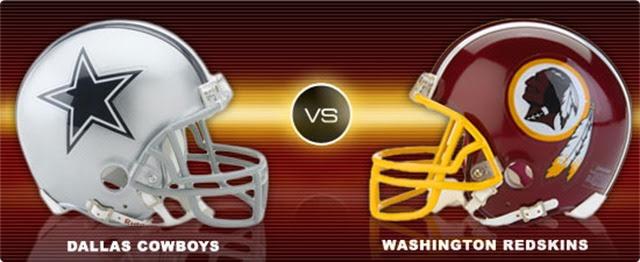 Dallas Cowboys vs Washington Redskins - TV - The Boys Are Back blog