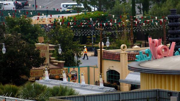Disneyland Resort, Disneyland60, Disney California Adventure, Paradise, Pier, Mickey, Fun, Wheel, Cars Land, Luigi, Flying, Tires, Refurbishment, Refurb, Refurbish