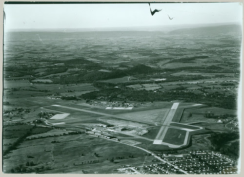 Airfield from the air
