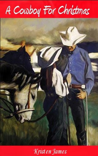 A Cowboy for Christmas by Kristen James