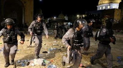 В Иерусалиме число пострадавших в ходе беспорядков у мечети выросло до 205