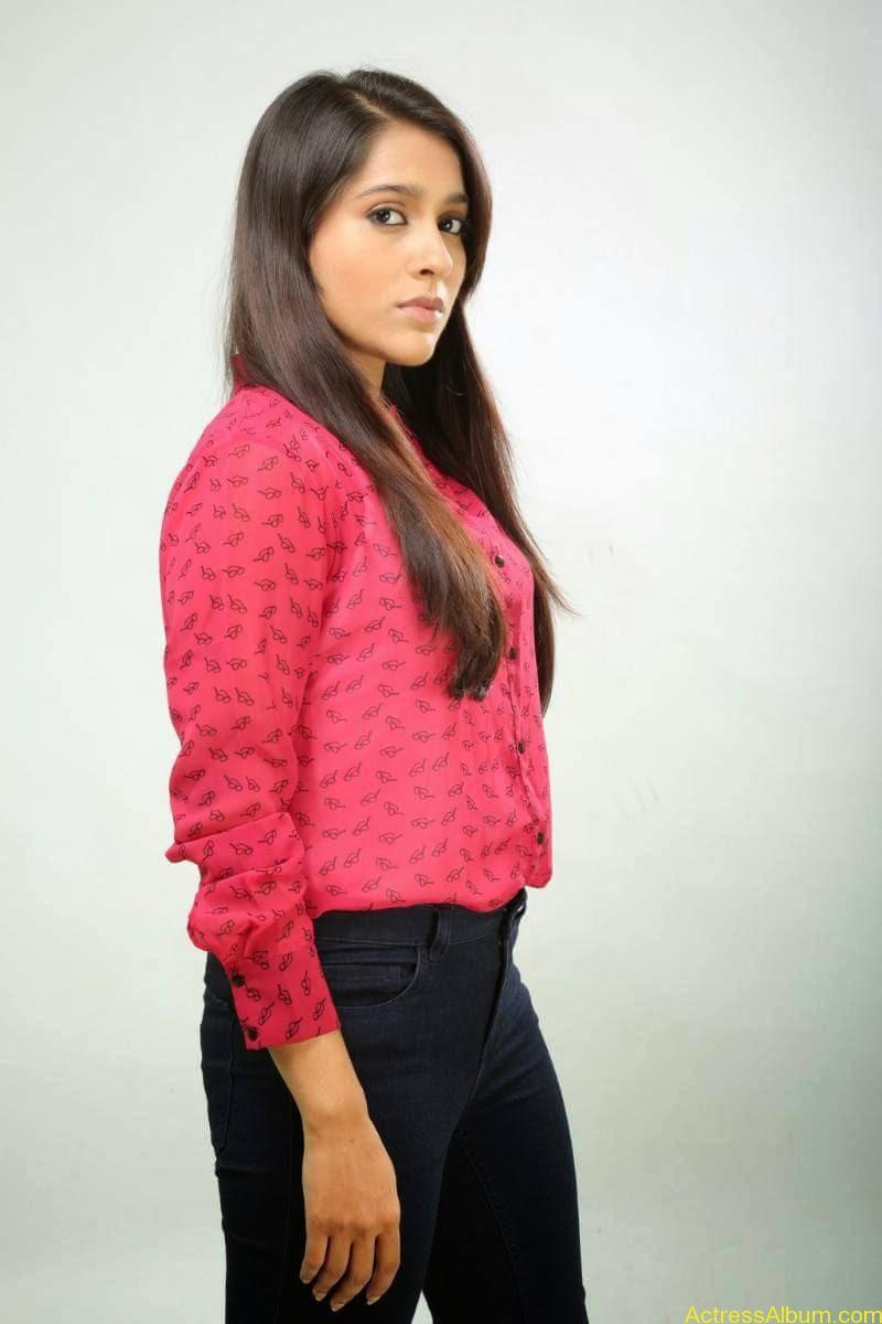 Rashmi Gautam Hot pink dress 11