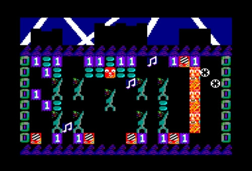 Screenshot from Sean's Amstrad disc