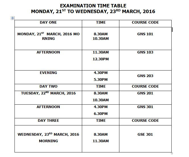 gns-exams-time-table
