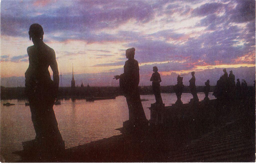 Ленинград. Белые ночи. 18 открыток
