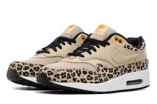 """huge selection of bf43f acf2a Nike Air Max 1 """"Leopard"""" Releases This Weekend"""