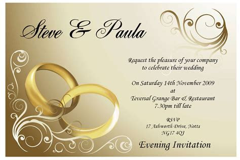 Image for Blank Wedding Invitations Templates   PAPER DOLL