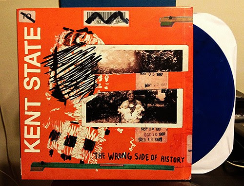 Kent State - The Wrong Side Of History LP - Blue Vinyl (/100) by Tim PopKid
