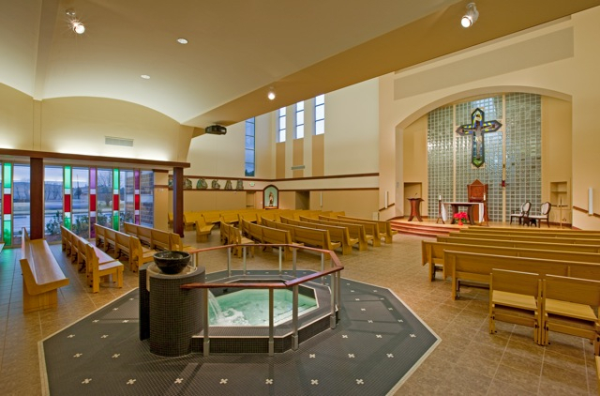 Church Interior Design - Is Beige The Only Color?