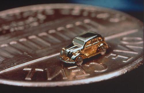 tiny working car