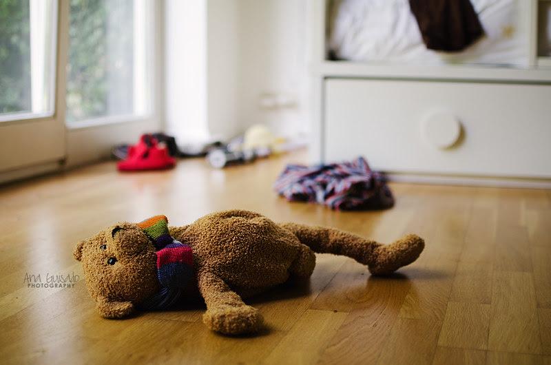 Kids were here: the bedroom