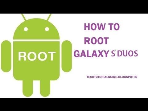 How To Root Samsung S duos [S7562](Root Genius)