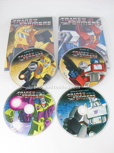 Transformers Season Two, Volume Two DVDs