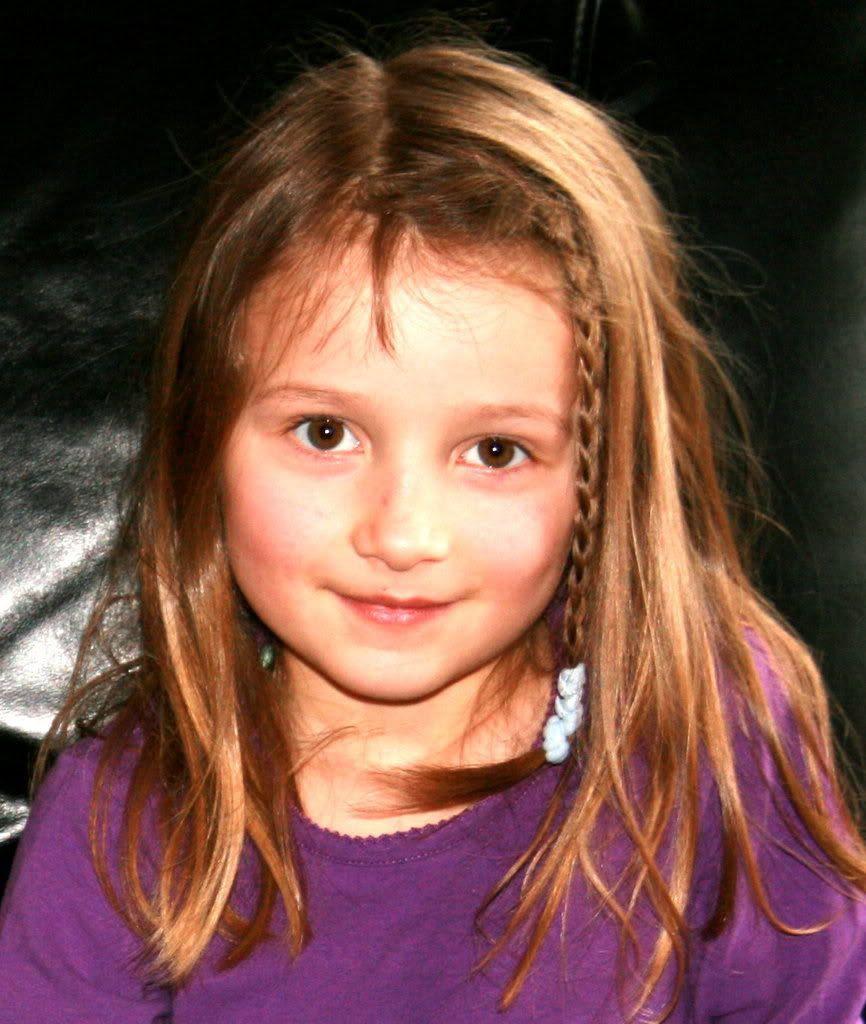 Mathilde 7 år idag 7. juni! ;)
