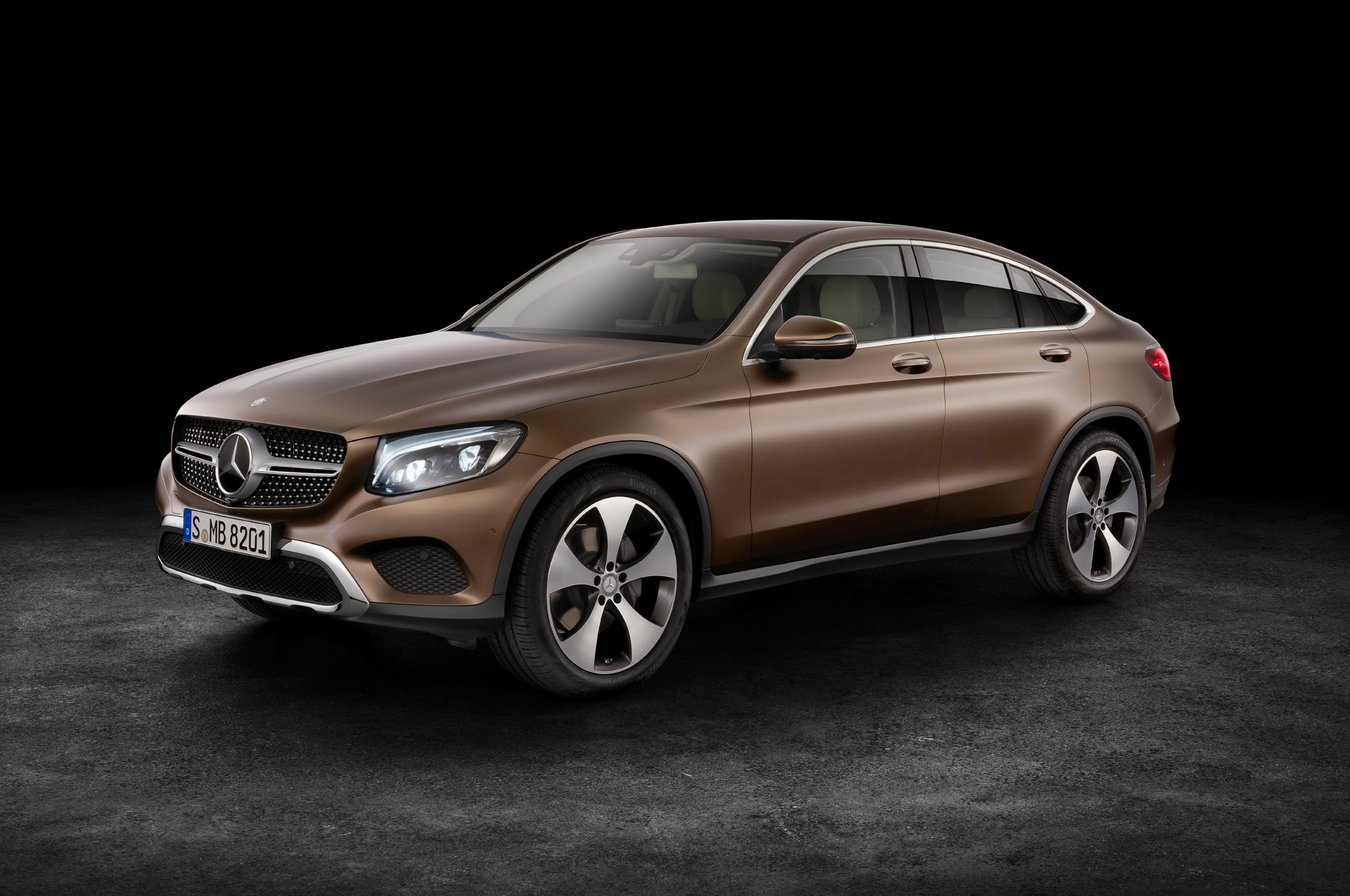 2017 Mercedes-Benz GLC Coupe Debuts in New York ...