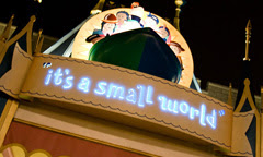 it's a small world'