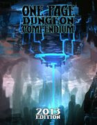 Image result for one page dungeon compendium 2013
