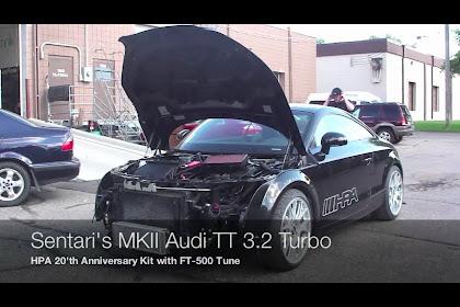 2008 Audi Tt 32 Quattro Turbo Kit
