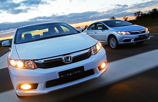 Honda Civic 2014 (Foto: Divulgação)