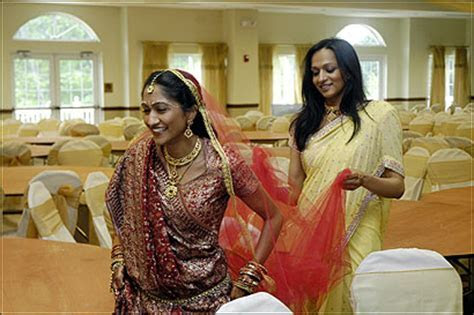 The wedding of an Indian American bride and a Jewish groom
