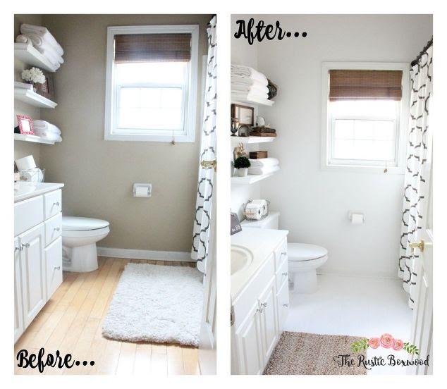 Our Guest Bathroom Remodel | Hometalk