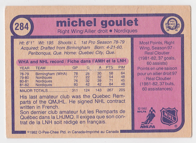 AAA -Caps - Michel Goulet - Back