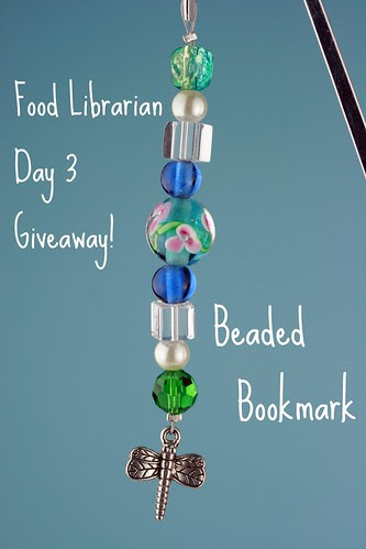 Food Librarian - Bookmark