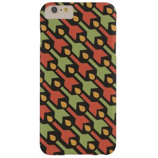 Egyptian Red Green Yellow Arrow iPhone 6 Plus Case
